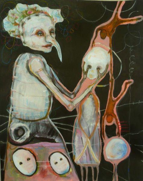 Traum, Kind, Figurativ, Kindheit, Zirkus, Lange nase