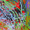 Abstrakt, Pastellmalerei, Acrylmalerei, Fantasie