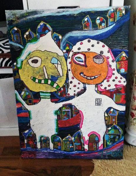 Inspiration, Brut, Farben, Malerei