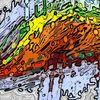Loch, Abstrakte kunst, Digitale kunst, Grau