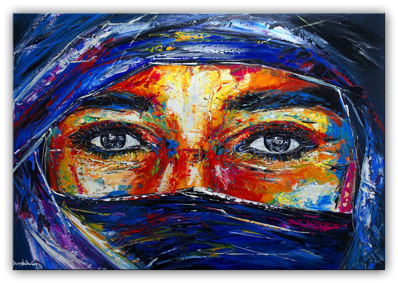 Acrylbild Malen