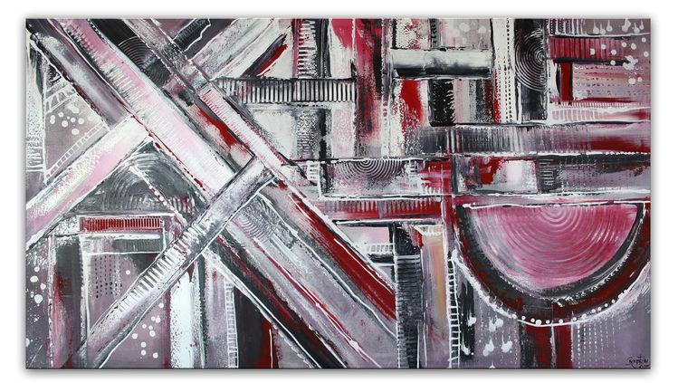 Etienne Donnay: Irrwege abstrakte Malerei   Galerie