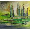 Acrylmalerei, Freshmaker, Abstrakt, Kunst bild