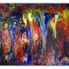 Abstrakte kunst, Blau, Malen, Malerei