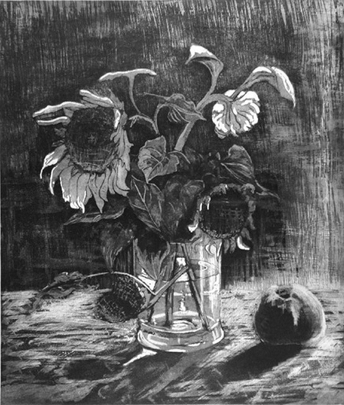 Herbstanfang: Zeitgenössische kunst, Aquatintarad, Auflagendrucke ...