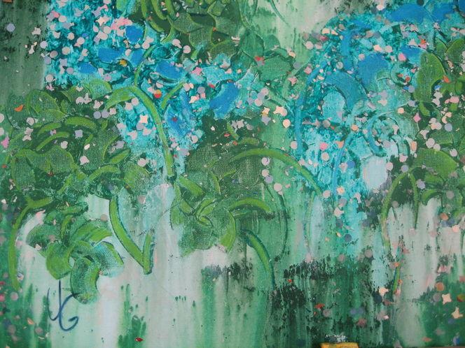 Malerei, Pflanzen,