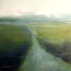 Wasser, Landschaft, Blau, Malerei