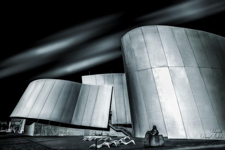 Architektur, Stralsund, Licht und zeit, Ozeaneum, Fotografie