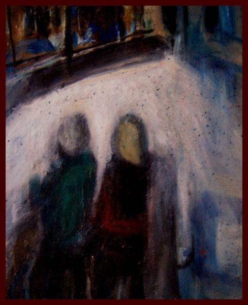 Ölmalerei, Kalk, Malerei