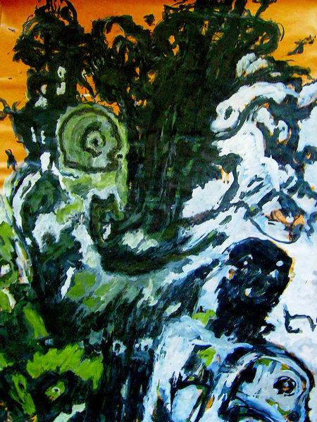 Malerei, Seelisch, Ausdruck