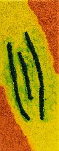 Sand, Gelb, Acrylmalerei, Malerei