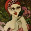 Frau, Jugendstil, Digitale kunst