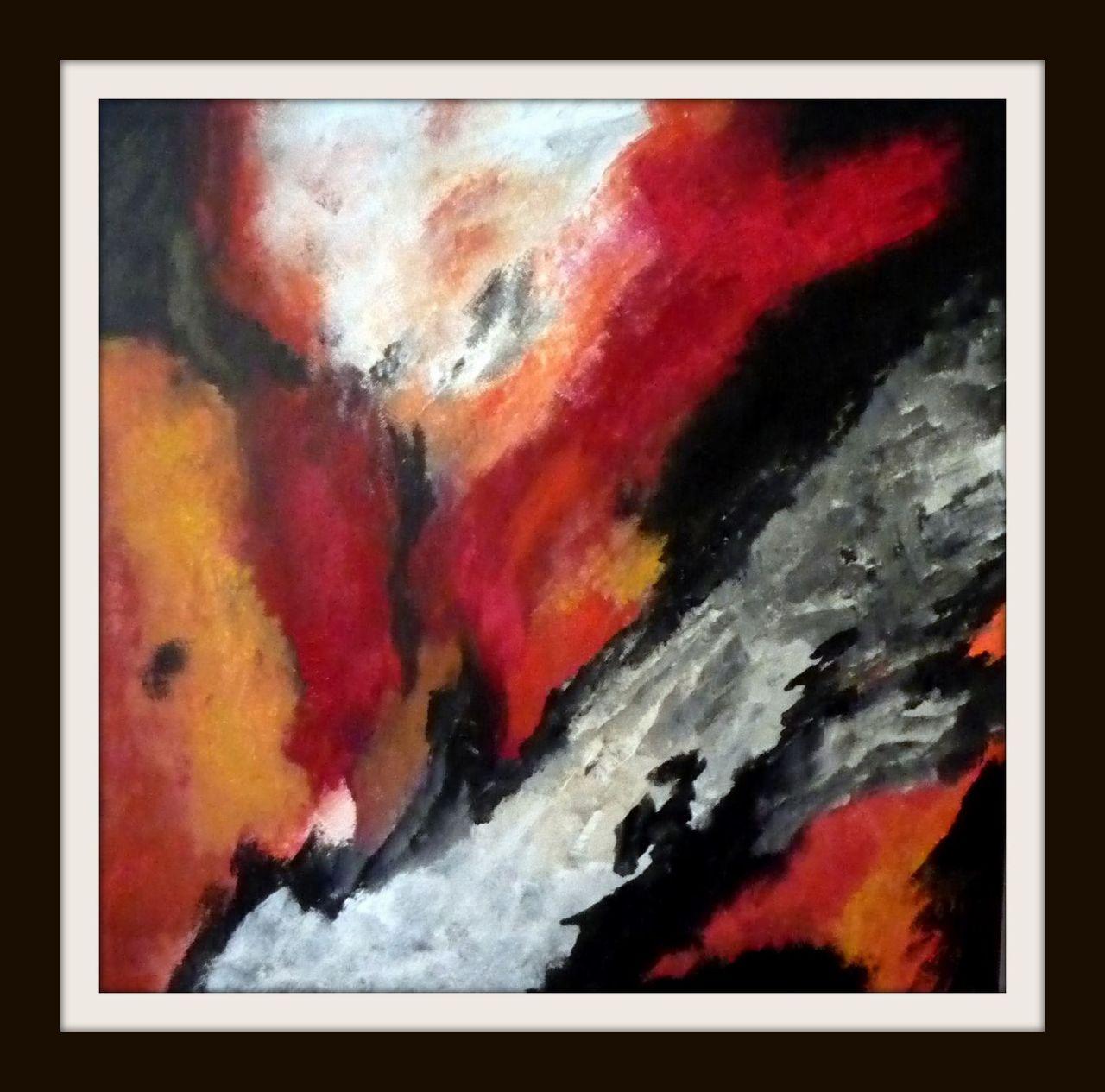bild malerei abstrakt bildenden k nstlers von hans gaedeke bei kunstnet. Black Bedroom Furniture Sets. Home Design Ideas