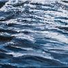Nordsee, Wasseroberfläche, Welle, Blau