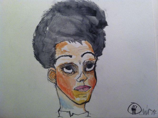 Malerei, Fleck