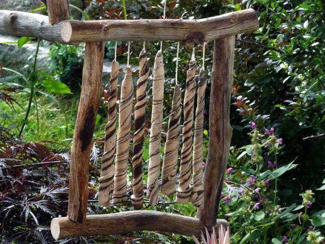 Keramik, Windspiel, Gartenkeramik, Mobile, Handarbeit, Ton