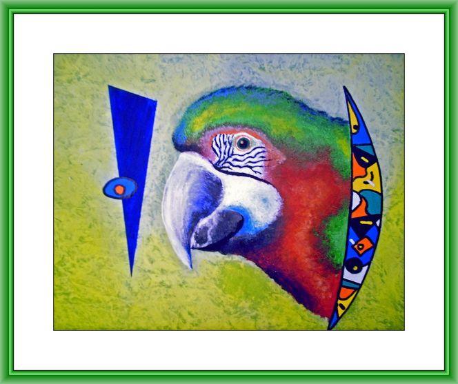 Malerei, Gemälde, Vogel