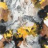 Marmormehl, Struktur, Acrylmalerei, Abstrakt