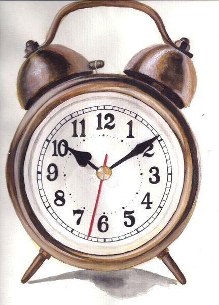 Wecker, Uhrzeit, Realismus, Klingel, Zeit, Mond