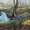 Natur, Frühlingsblumen, Landschaft, Impressionismus