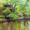 Immpressionismus, Garten, Malerei, Vegetation