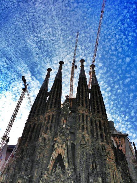 Stadt, Barcelona, Sagra de famlia, Fotografie, Architektur