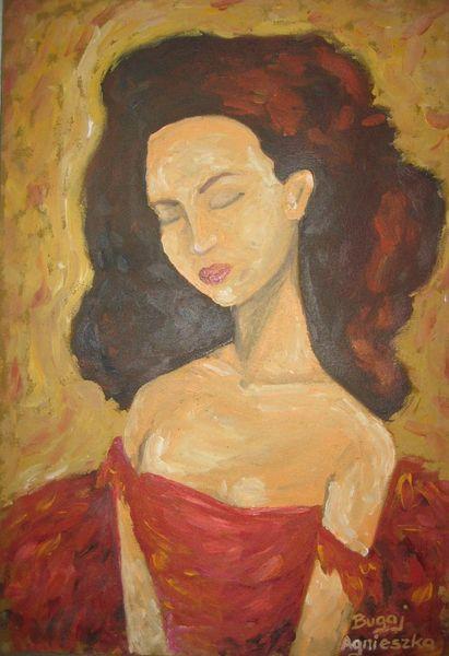 Malerei, Portrait, Ballerina