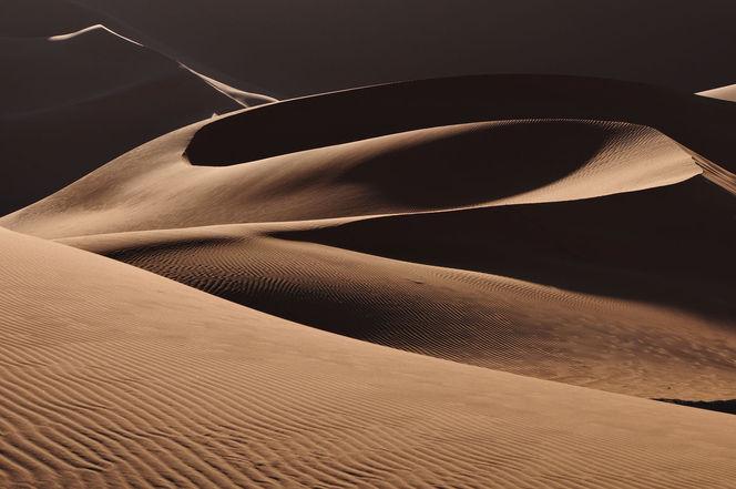Südalgerien, Sandstrukturen, Wüste, Sand, Dünen, Struktur