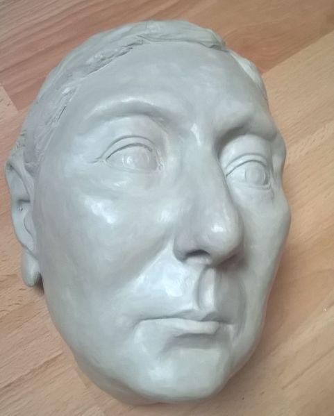 Portrait, Menschen, Gesicht, Ton, Plastik