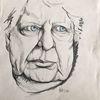 Mann, Zeichnungen, Augen