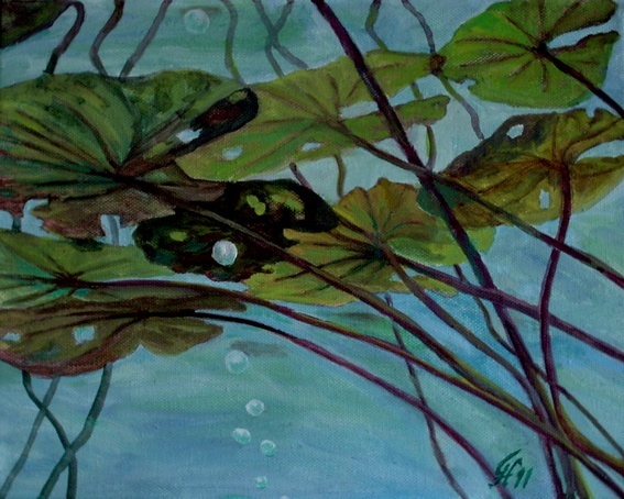 Empor, Pflanzen, Malerei