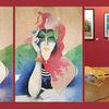 Callas, Portrait, Kugelschreiber, Frau