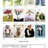 Illustration, Monatskalender, Erotik, Mischtechnik