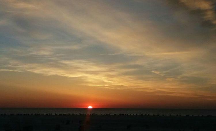 Sonnenuntergang, Nordsee, Romantik, Fotografie, Meer