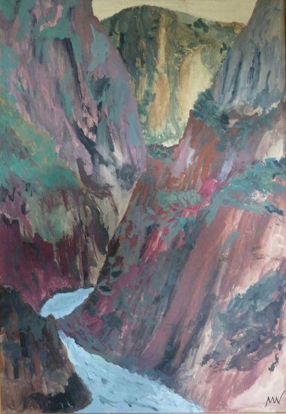 Malerei, Dazur, Cote