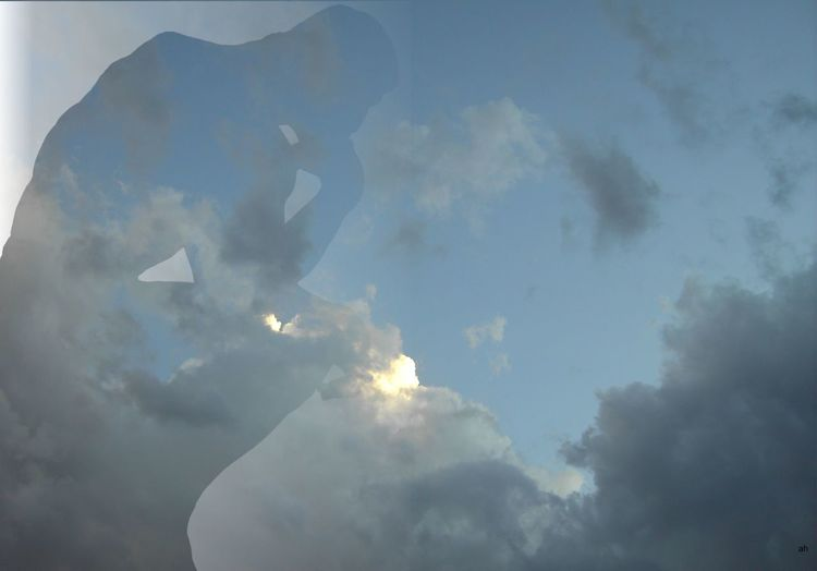 Träumer, Wolken, Denker, Illustrationen
