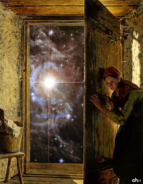 Universum, Tür, Hänsel, Keller, Mischtechnik, Geschichte