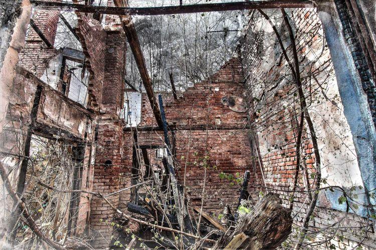 Villa, Feuer, Zerstörung, Fotografie