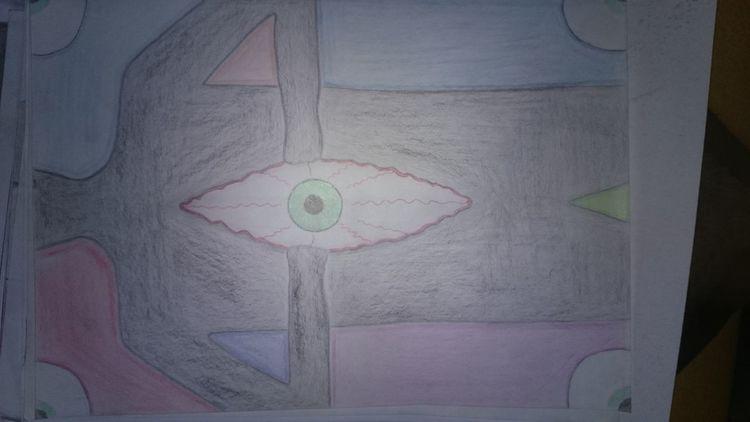Augen, Zerreißen, Schwarz, Zeichnungen