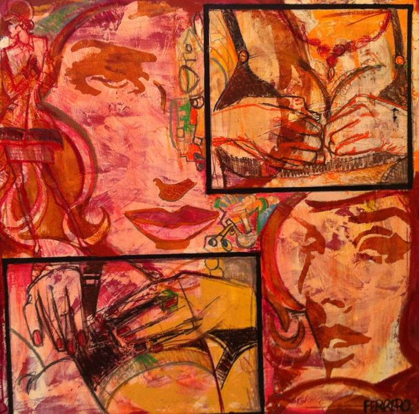 Bellen, Comitive, Strotelling art, Mode, Marc ferrero, Frau