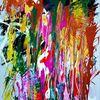 Farbspiele im wind, Komposition, Zauber, Rausch