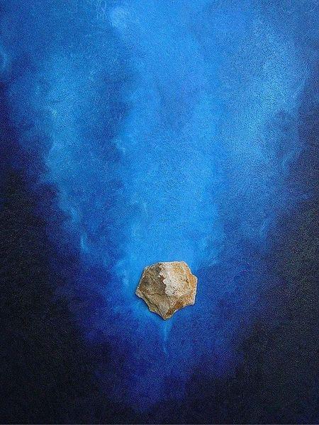 Blau, Sole, Malerei,