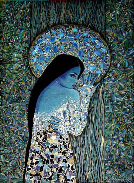 Blau, Empfindsamkeit, Einsamkeit, Schmerz, Empfinden, Rückzug