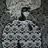 Emotion of grey - Emotion Gefühl Farbe Frisur grau schmuck Frau Lady Maske Feder Ornament perlen Blumen Lotus Farblosigkeit Neutralität Vorsicht Hoffnung Aufbruch Unauffälligkeit Sachlichkeit Pragmatismus Depression unbemerkbar Trübsinn Mischfarbe Grenzbereich Undurchdri