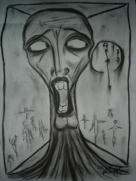 Depression, Seele, Abgrund, Abstrakt, Schwarz, Dunkel