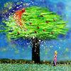 Malerei, Paradiesvogel
