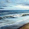 Blau, Welle, Nordsee, Himmel