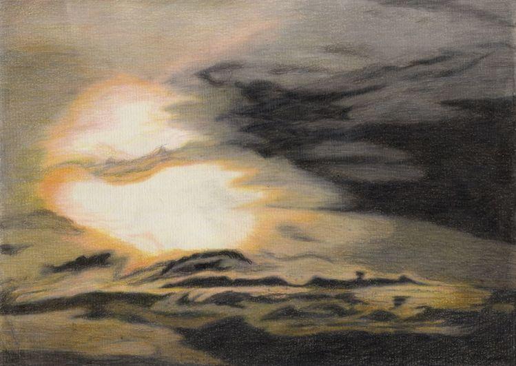 Wolken, Sonne, Himmel, Stimmung, Zeichnungen