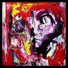 Abstrakt, Portrait, Acrylmalerei, Malerei