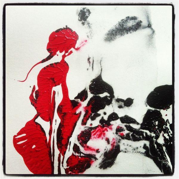 Abstrakt, Acrylmalerei, Surreal, Malerei